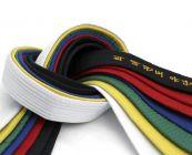 ceintures couleurs