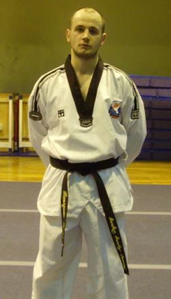 Kévin BE1 taekwondo